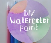 DIY watercolour paint