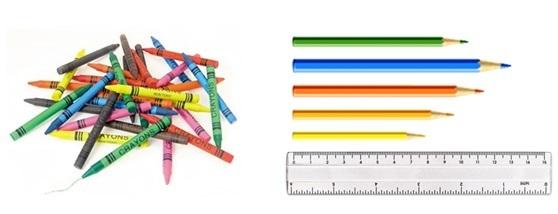 Maths crayons