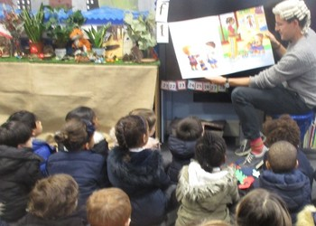 Storytime with Mr Bentham