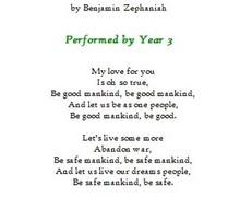Y3 poem
