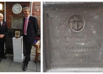 Samuel Twining Memorial Stone