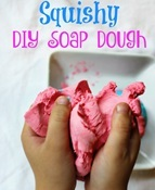 Squishy soap