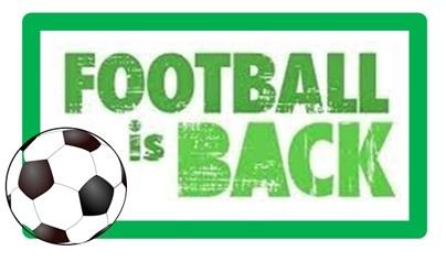 Football's back