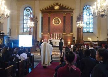 Eucharist at St Paul's Church