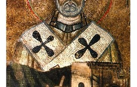 St Clement icon with name