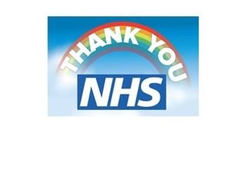 Thank you, NHS!