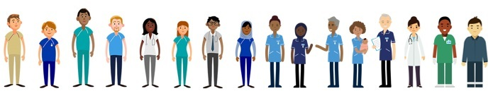 Diversity NHS staff