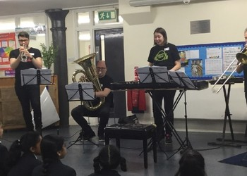 Year 3's Music Workshop with Royal Albert Hall musicians