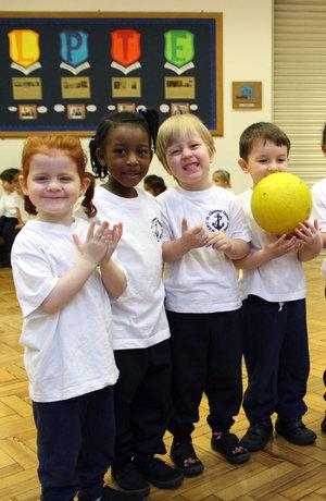 PE lesson - house teams