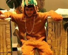 18. King Louie on throne   R