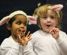 EYFS Nativity - sheep