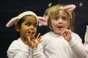 EYFS Nativity - sheep