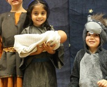 EYFS Nativity - Mary, Joseph and Donkey