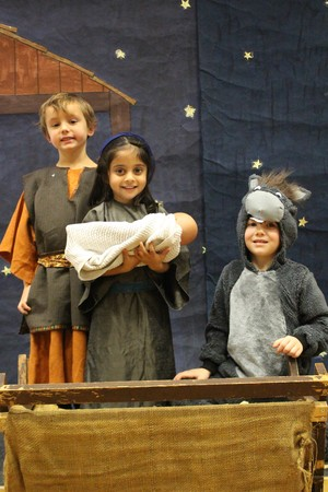 EYFS Nativity - Mary, Joseph and Donkey