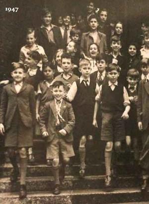 School history 1947 class