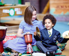 Homepage 3  - EYFS music cymbals