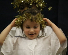 EYFS nativity - angels 2