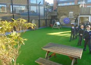 Our Playground on the School Roof