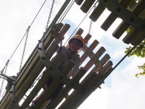 Sayers croft high ropes