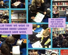 Book Week library visit