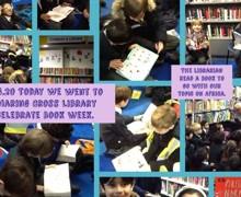 Book Week library visit