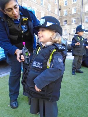 EYFS police trip