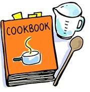 Cookbook clipart 2