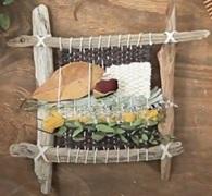 Weaving natural materials