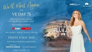 Royal Albert Hall VE day